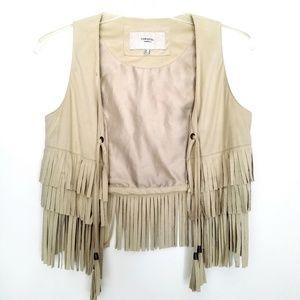 Cortefiel tassel vest